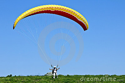 Paragliding Editorial Photography