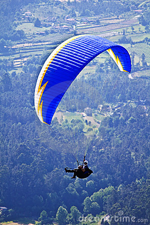 Paragliding Editorial Image