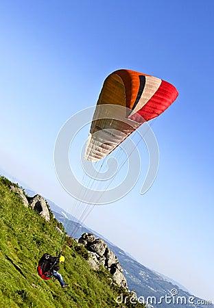 Paragliding Editorial Image