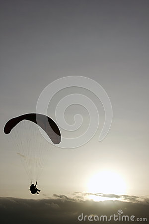 Paragliding Cross-country Portuguese Editorial Image