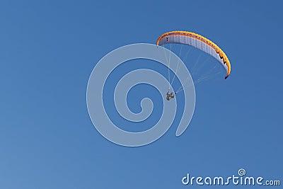 Paragliding  in Oludeniz Editorial Stock Photo