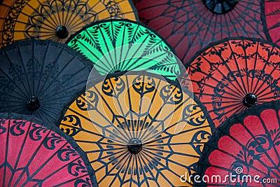 Paraguas de papel - Pathein, Myanmar