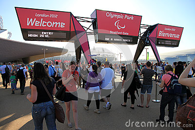 Paralymics London 2012 Editorial Photography