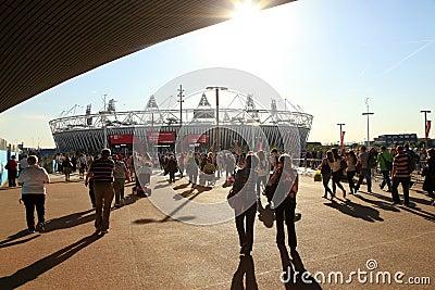 Paralymics London 2012 Editorial Stock Image