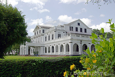 Paramaribo presidential palace Editorial Photo