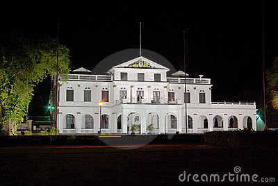 Paramaribo presidential palace Editorial Photography