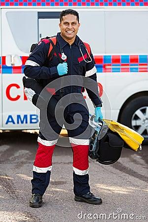 Paramedic portable medical equipments