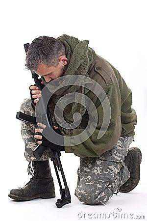 Paramilitary soldier