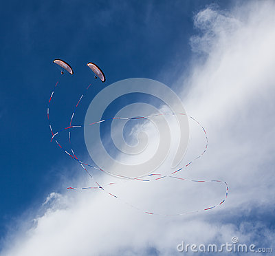 Paramotor Demonstration Editorial Stock Image