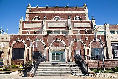 Paramount Theatre Asbury Park NJ Editorial Photo