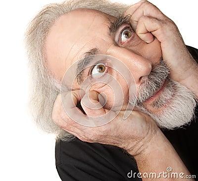 Paranoid Senior Male