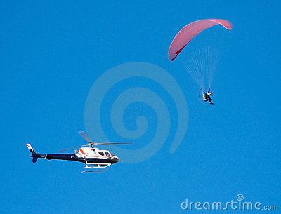 Parapente pursuit