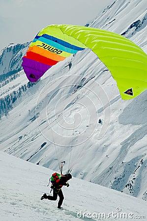 Free Paraplane Aktivity Stock Image - 28155581