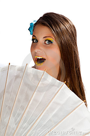 Parasol And Candy Royalty Free Stock Images - Image: 22896189