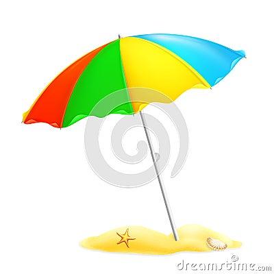 Parasol de plage photo stock image 20633900 - Dessin parasol ...