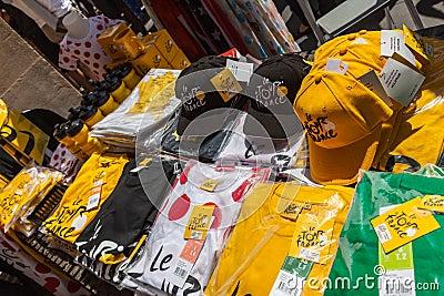 Parasol Tour de France Editorial Photo