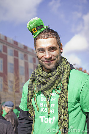 Parata di giorno della st Patricks Fotografia Editoriale