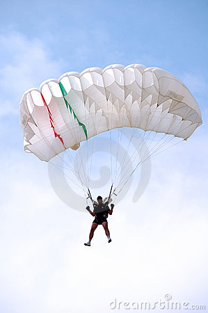 The paratrooper Editorial Photo