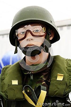 Paratrooper dummy