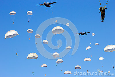Paratrooper invasion
