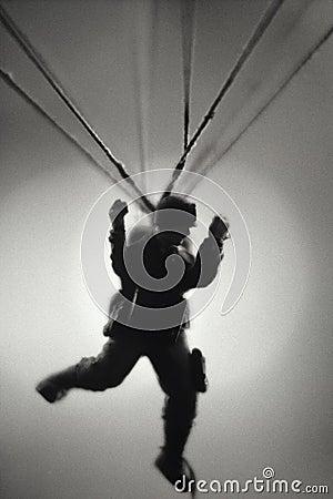 Paratrooper toy