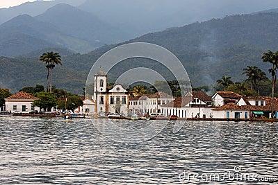 Paraty Historical City Santa Rita Church
