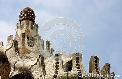 Parc Guell 03, Barcelona, Spain