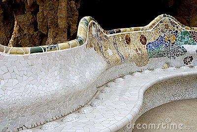Parc Guell 17, Barcelona, Spain