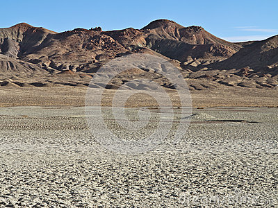 Parched desert landscape in Northern Nevada