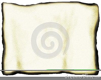 Parched paper