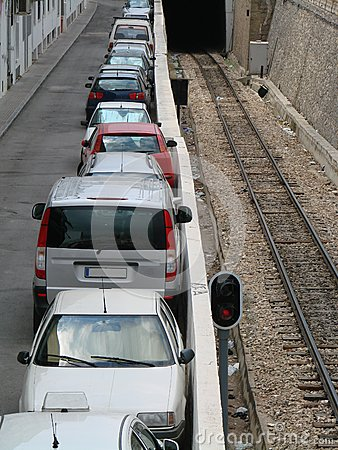 Parcheggio dell automobile