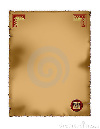 parchment - celtic