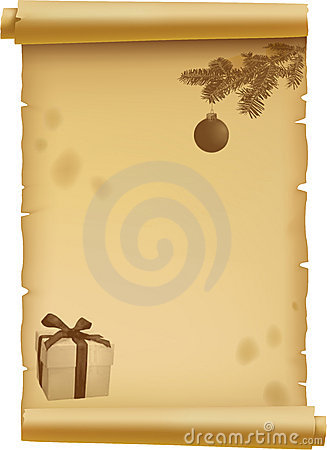 Parchment for Christmas