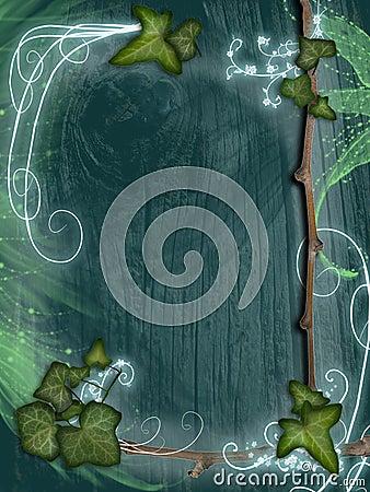 parchment - Ivy frame