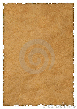 Free Parchment Paper Background Stock Image - 5390411