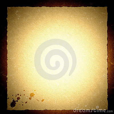 PARCHMENT PAPER WITH GRUNGY BACKGROUND