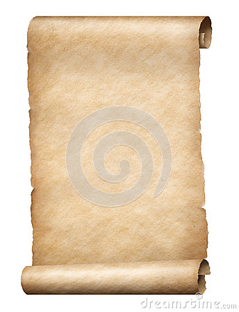 Free Parchment Scroll Stock Image - 90101091