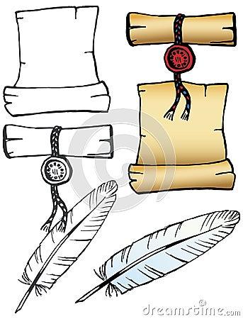 Parchment set