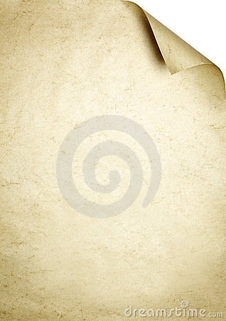 Parchment writing paper background