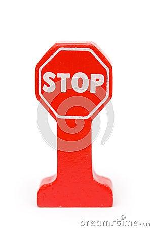 Pare o sinal