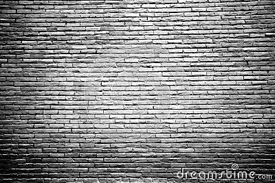 Pared de ladrillo blanco y negro con el centro destacado - Pared ladrillo blanco ...