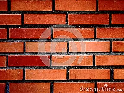 Pared de ladrillos rojos III