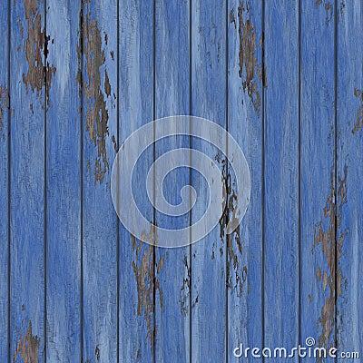 Pared de madera agrietada de la vieja peladura inconsútil