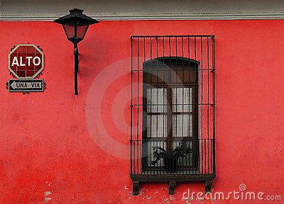 Pared roja