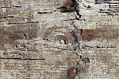 Parede de madeira envelhecida