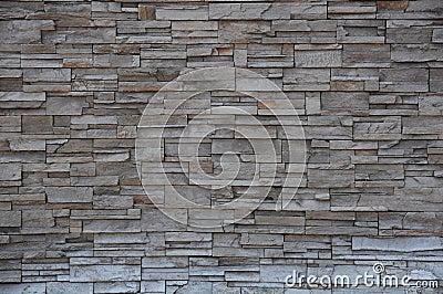 Parede de tijolo de pedra, parede de pedra do tijolo moderno