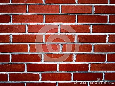 Parede de tijolos vermelhos II