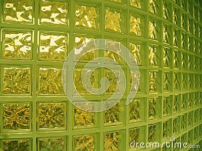 Parede de vidro interior