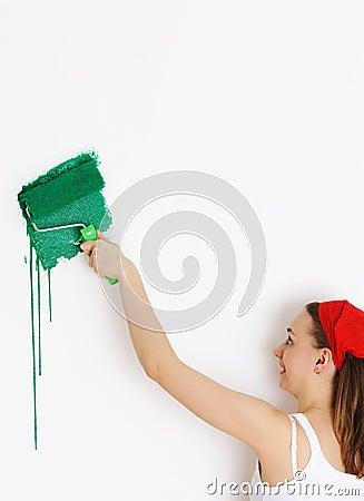Paredes de la pintura