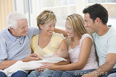 Parents and Grandparents with grandchild